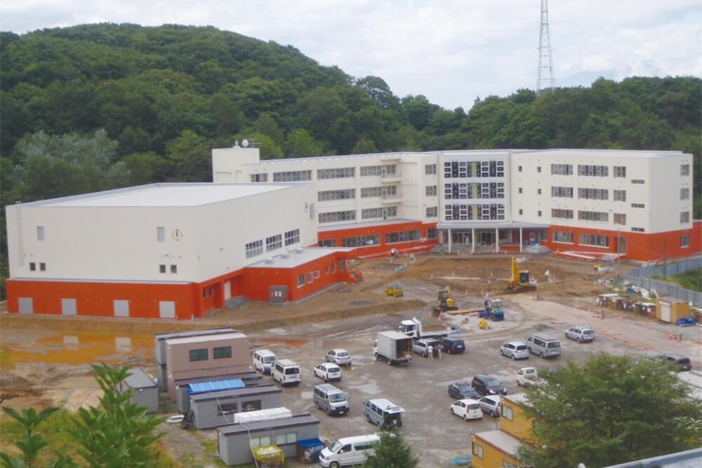 室蘭市立室蘭西中学校