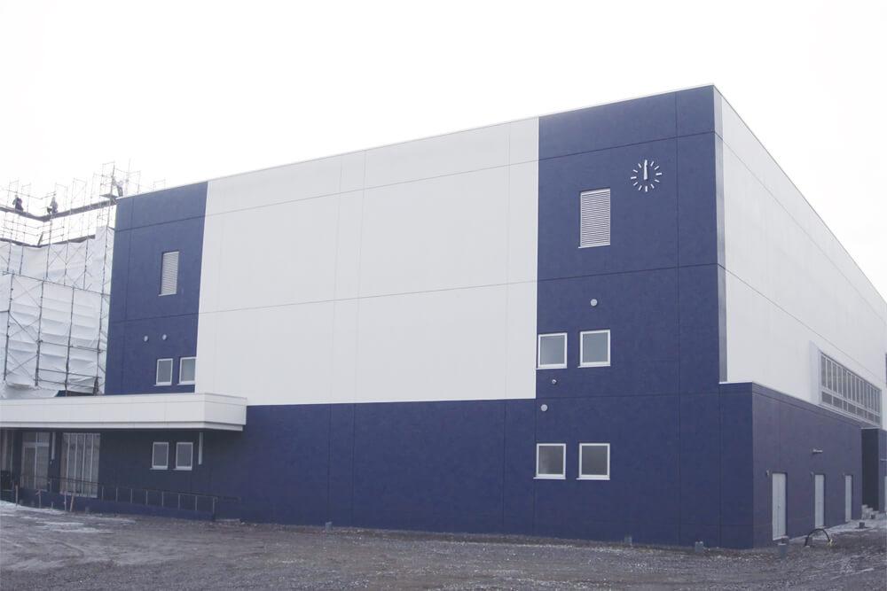 室蘭市立翔陽中学校体育館