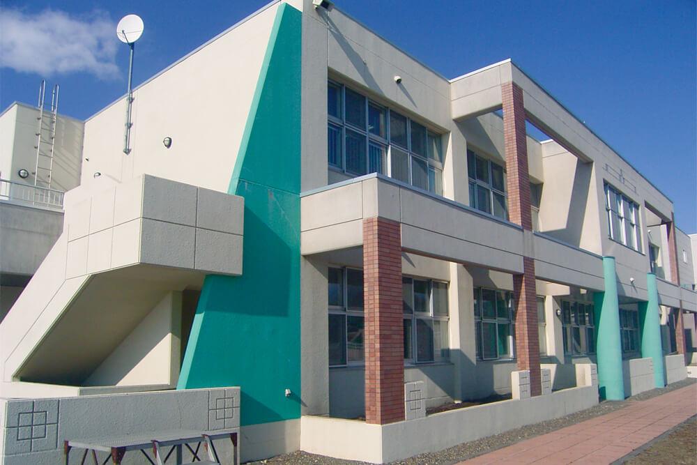 室蘭養護学校増築