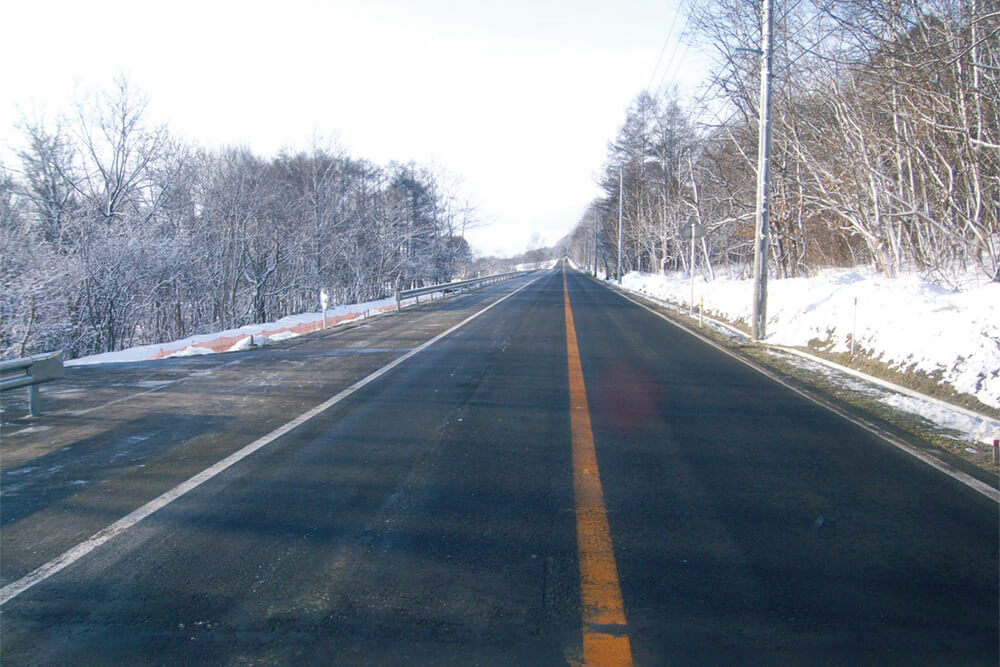 一般国道453号壮瞥町昭和新山改良工事